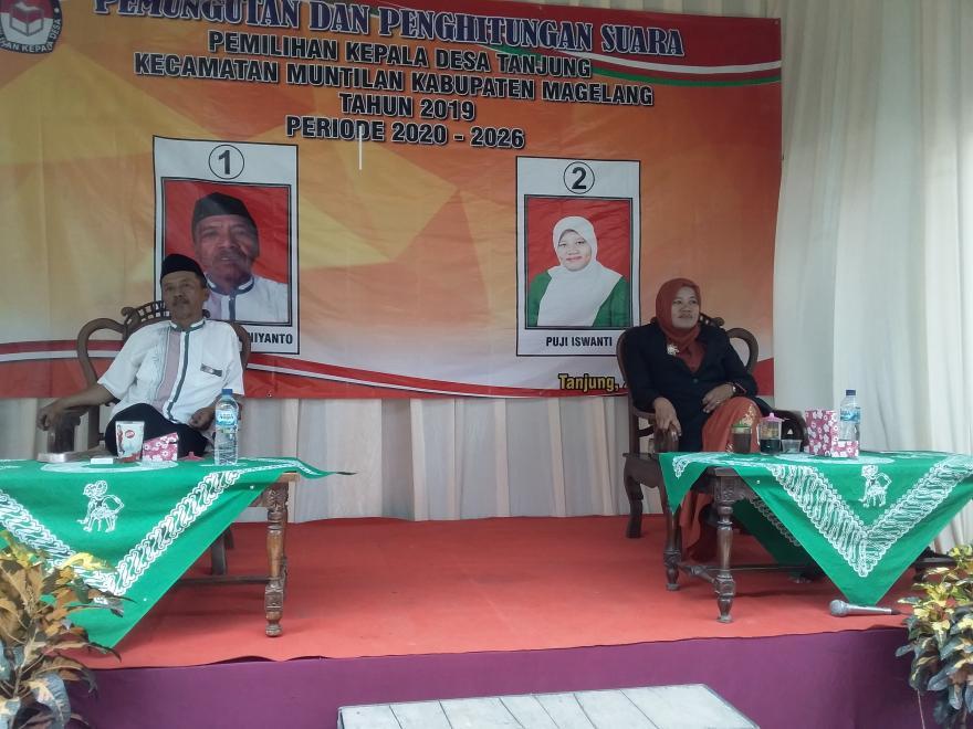 Image : Pemilihan Kepala Desa Tanjung Tahun 2019